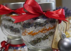 Domowe SPA - ziołowa sól kąpielowa 1
